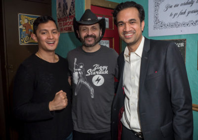 (4) Sachin and Anish with Dustin Chafin (HBO's Crashing)